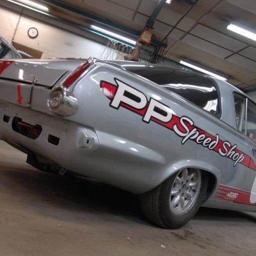 Silverfish Racing - Uusi teippaus